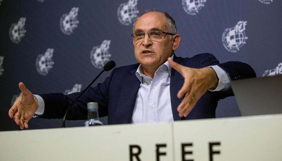 El Secretari General de la RFEF, Andreu Camps.