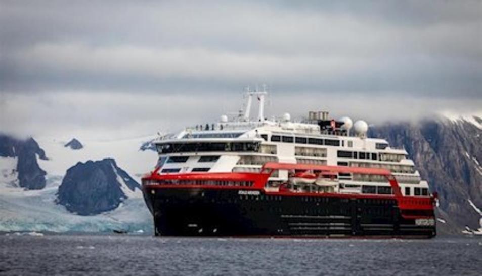 Imatge del creuer noruec