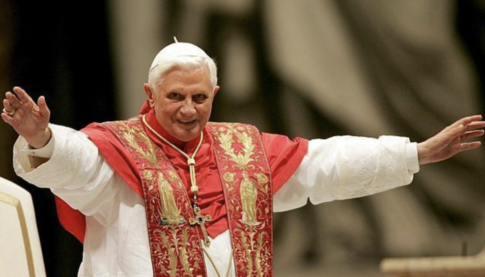 Imatge d'arxiu del Papa emèrit Benet XVI.