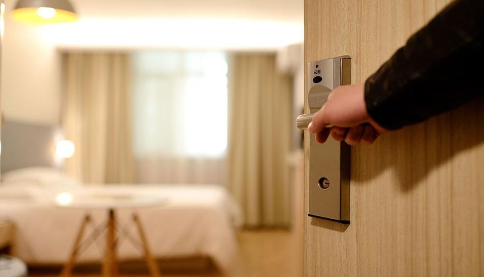 Imatge de recurs d'una habitació d'hotel.
