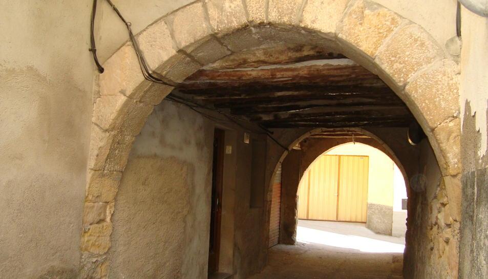 Imatge d'arxiu d'un carrer de lalocalitat de la Palma d?Ebre.