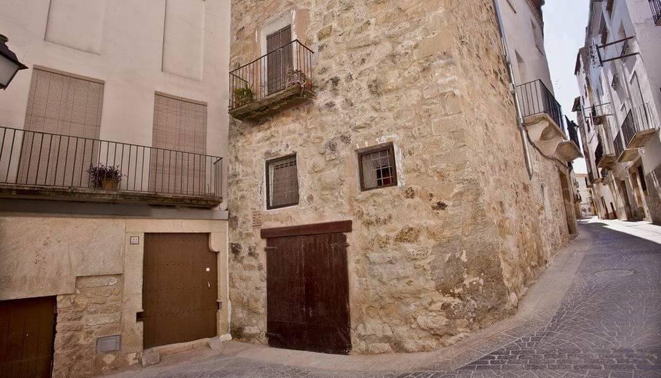 Imatge d'arxiu d'un carrer del municipi d'Ascó.