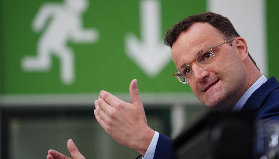 El ministre alemany de Sanitat, Jens Spahn.