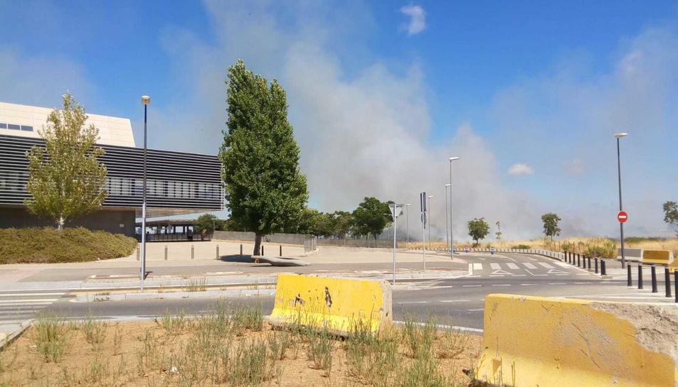 Imatge del foc.