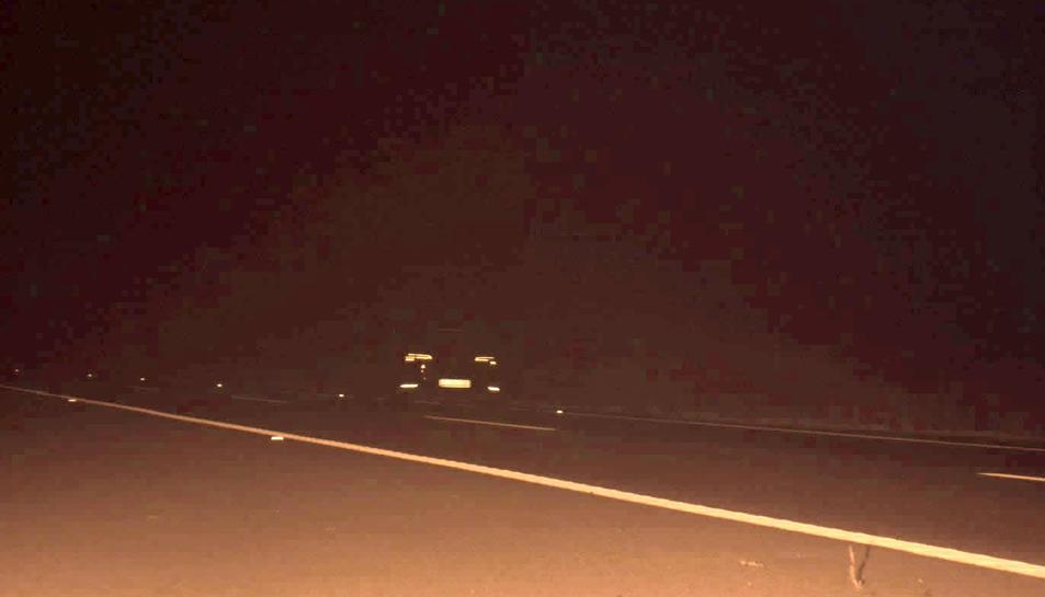 EL conductor circulant a 246 km/h ha estat 'caçat' de matinada.