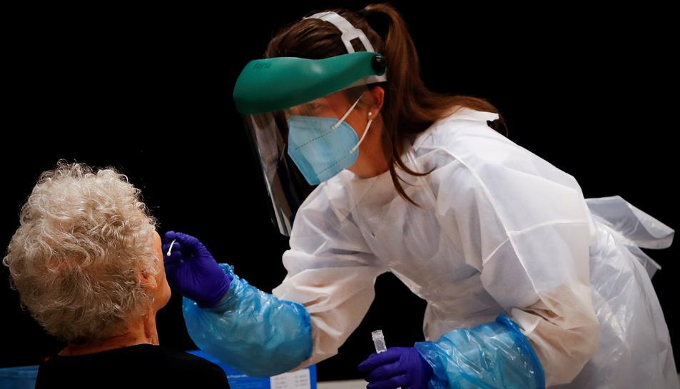 Les xifres són similars a les que es registraven en els pitjors moments de la pandèmia entre finals de març i principis d'abril