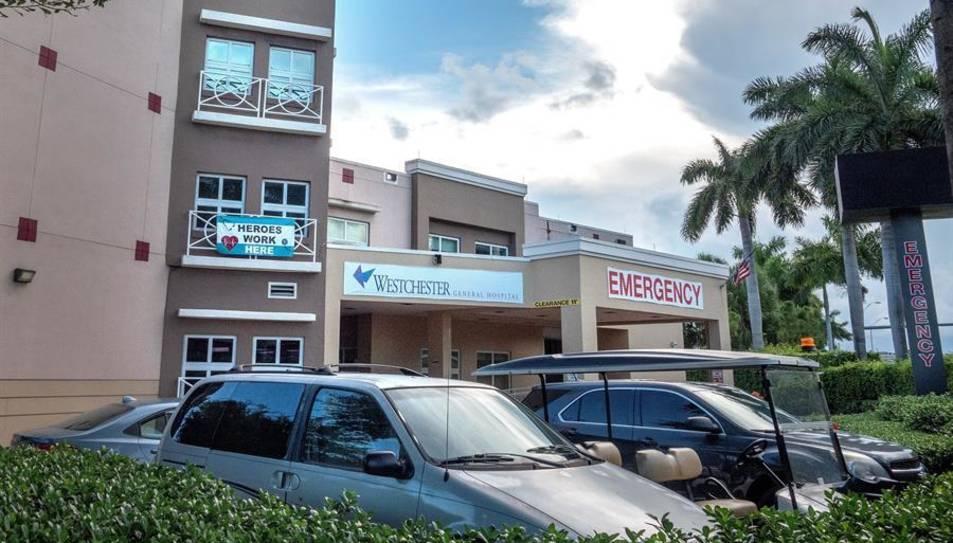 Vista de l'Hospital General de Westchester a Miami, Florida.