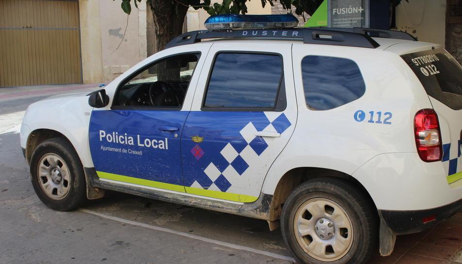 Imatge d'arxiu d'un vehicle de la Policia Local de Creixell