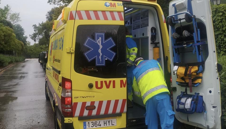 Imatge d'arxiu d'una ambulància del Summa-112.