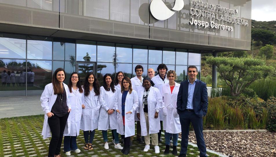 Grup d'epigenètica del càncer dirigit pel doctor Manel Esteller, director de l'Institut Josep Carreras.