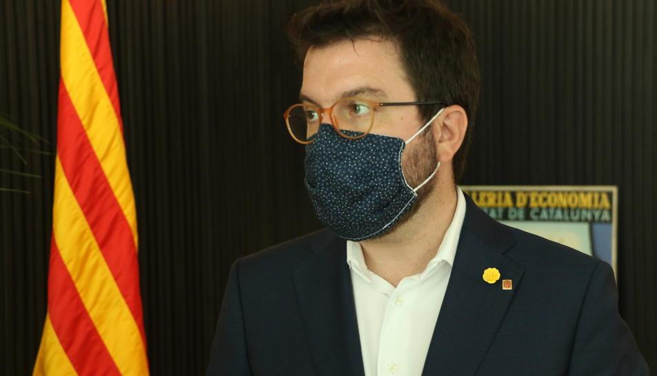 El vicepresident del Govern, Pere Aragonès.