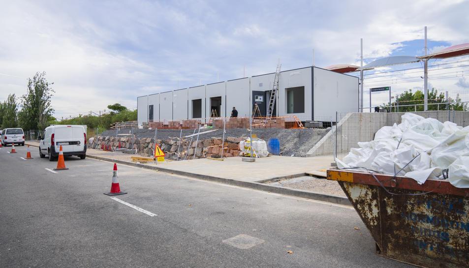 Nou aparcament a la zona de l'estació de PortAventura.