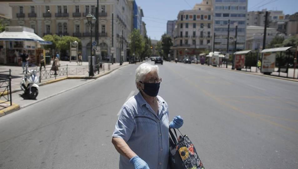 Grècia ha confirmat des del començament de la pandèmia 7.222 casos de coronavirus i