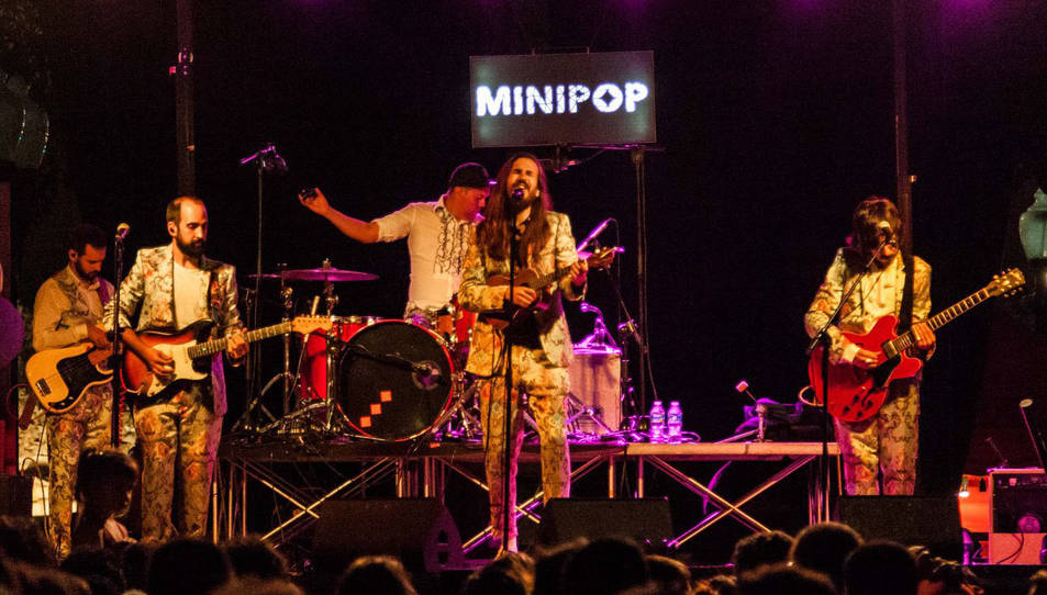 Imatge del concert de Carlos Sadness, l'edició passada.