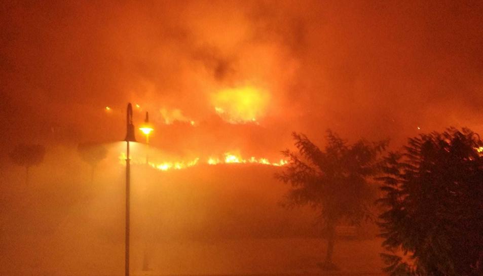 El tercer incendi es va produir la passada nit.