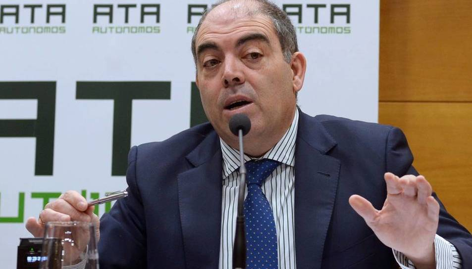 Lorenzo Amor, president de l'ATA. (EFE)