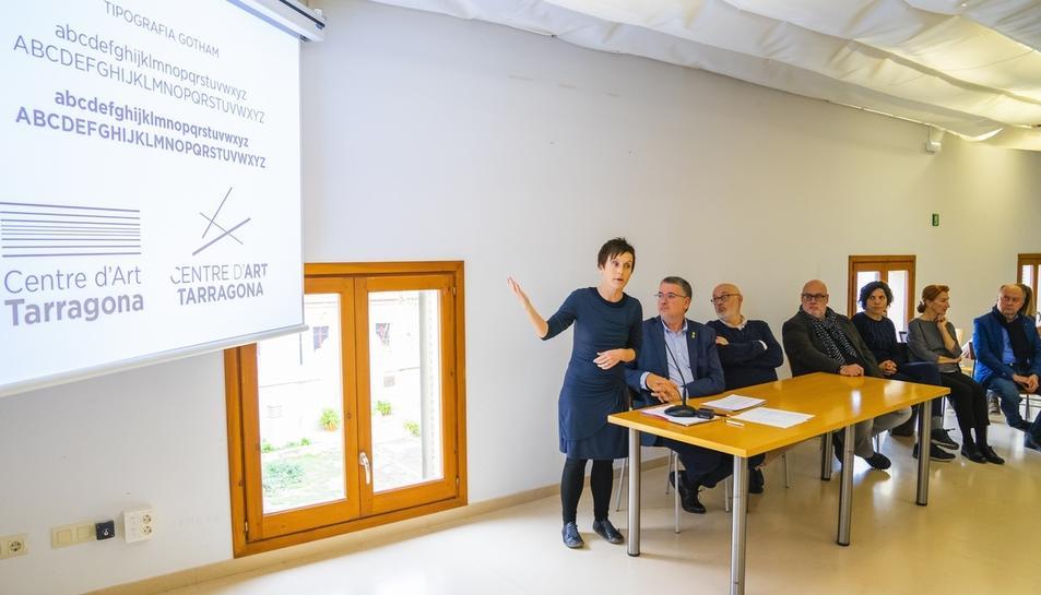 Imatge d'arxiu de la presentació del nou Centre d'Art de Tarragona del passat mes de desembre.