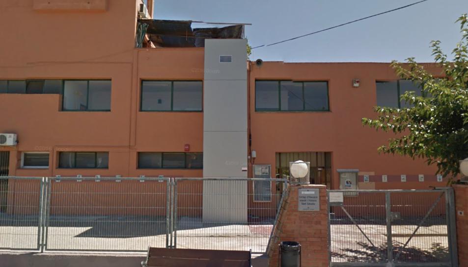 Façana de l'Escola Sant Salvador, Tarragona.