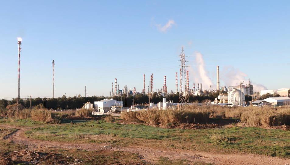 Pla general del complex petroquímic nord de Tarragona.