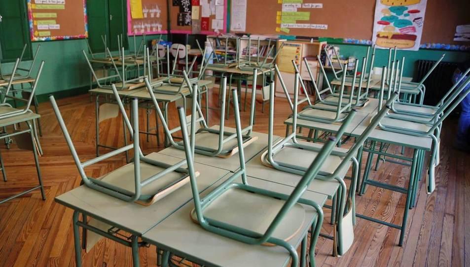 Imatge d'una classe tancada.
