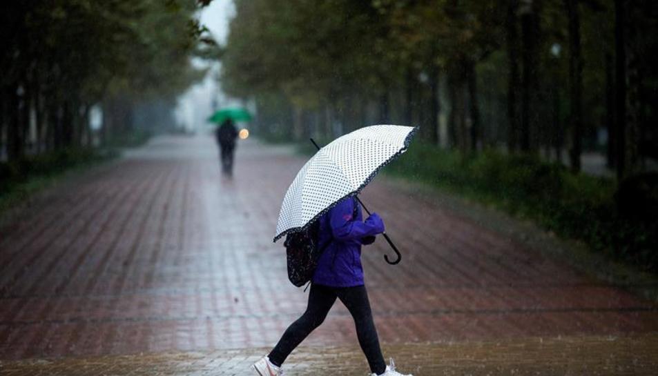 Imatge d'arxiu d'un dia plujós.