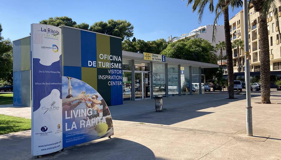 Oficina de turisme de Sant Carles de la Ràpita.