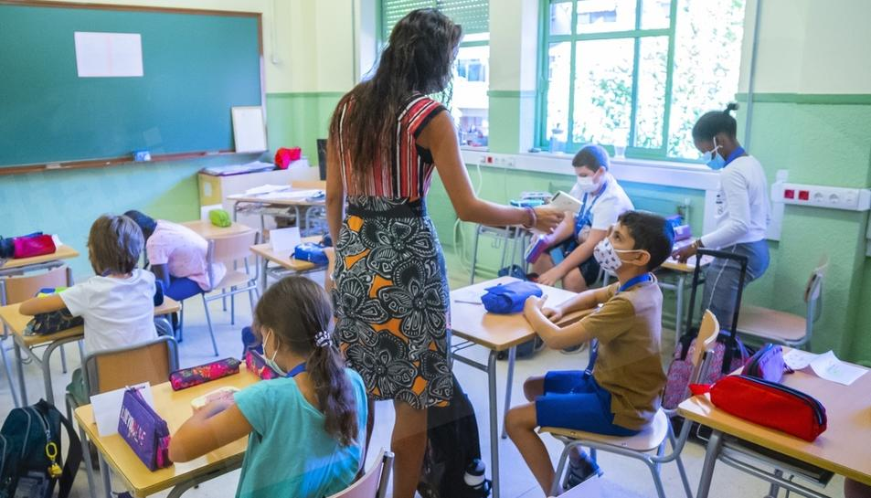 Primer dia del curs escolar 2020-21 al Serrallo