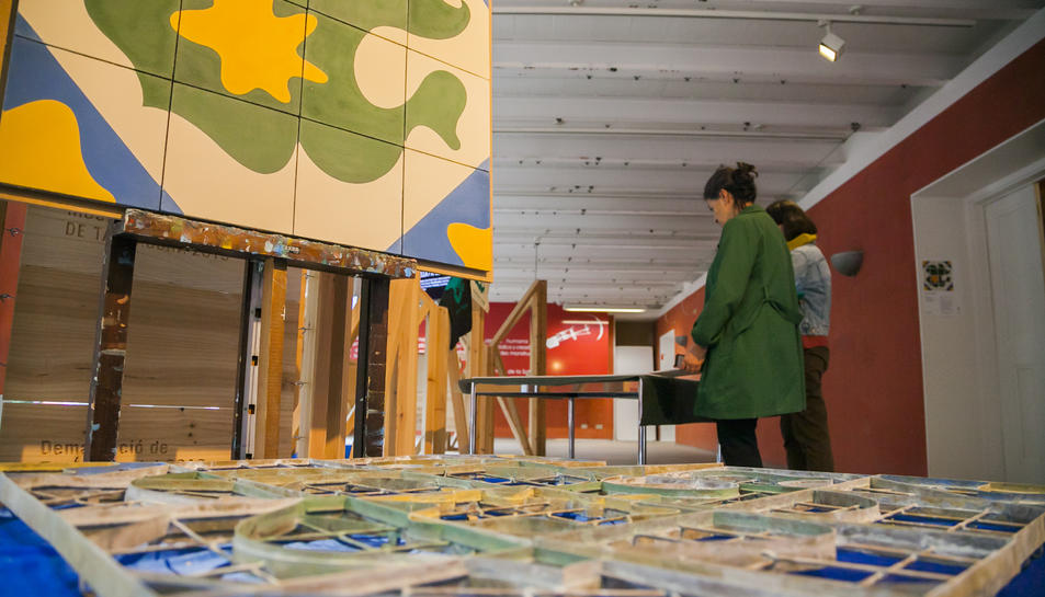Dissenys de Jujol que van formar part d'una mostra dedicada a l'arquitecte modernista tarragoní.