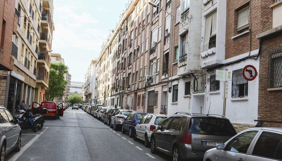 Una imatge d'arxiu del carrer Muralla, on es troben diversos habitatges d'aquest tipus.