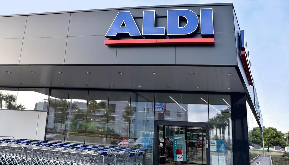 Imatge d'un supermercat ALDI.