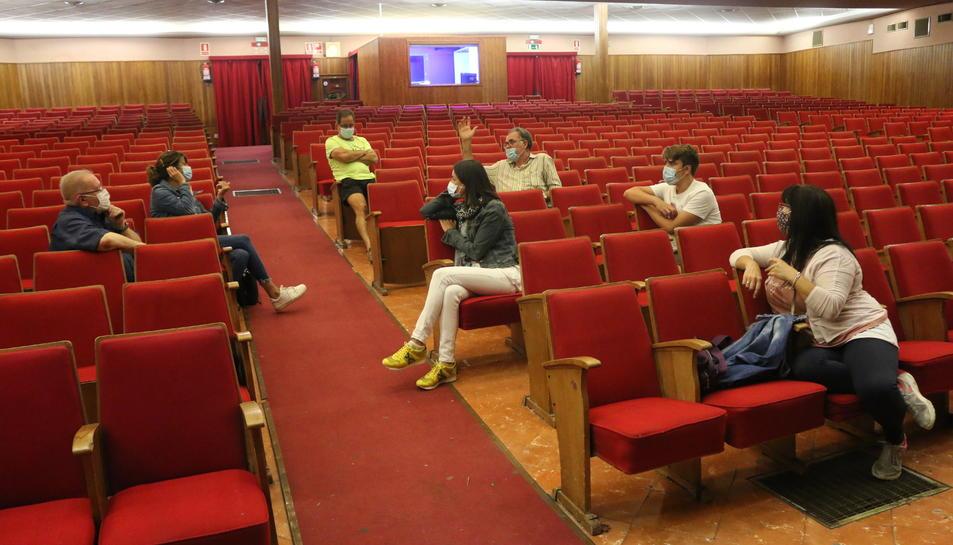 Imatge d'una reunió dels organitzadors dels Pastorets.
