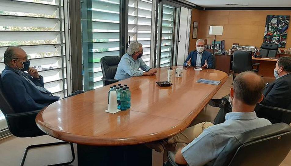 Imatge de la reunió que va tenir lloc dijous