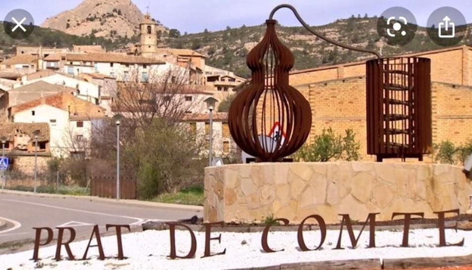 Imatge del municpi Prat de Comte situat a la Terra Alta