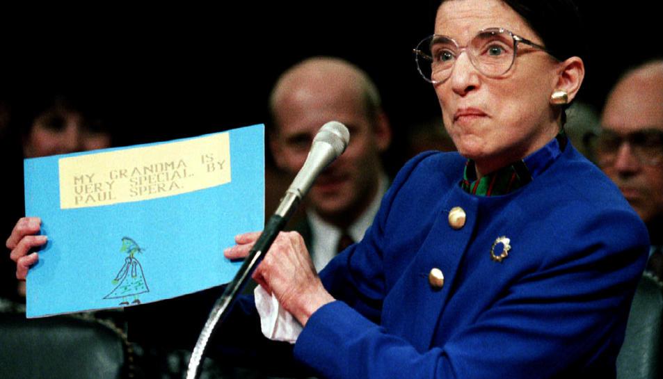 La jutgessa del Tribunal Suprem dels Estats Units, Ruth Bader Ginsburg, en una imatge d'arxiu
