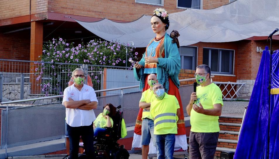 Moment de la intervenció d e l'alcalde de Tarragona Pau Ricomà.