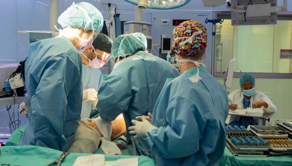 Pla general de l'operació de pròtesi de maluc.