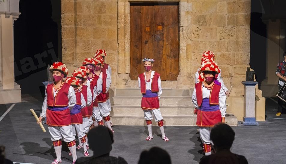 Representació de la Moixiganga al Seminari de Tarragona