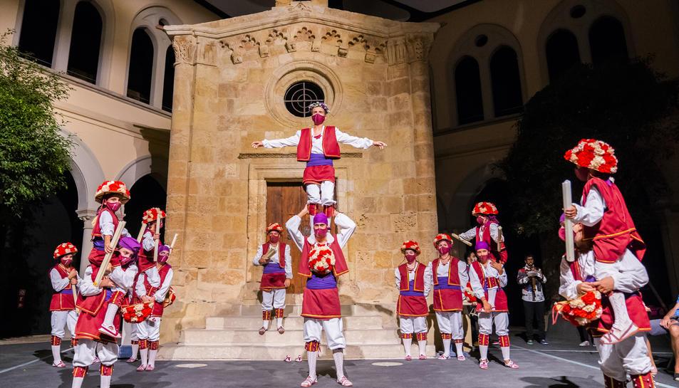 L'actuació de la Moixiganga al Seminari de Tarragona en aquesta Santa Tecla 2020.