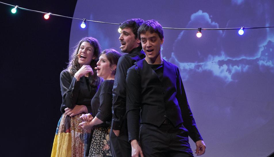 Imatge del Quartet Mèlt, que actuarà al Morell.