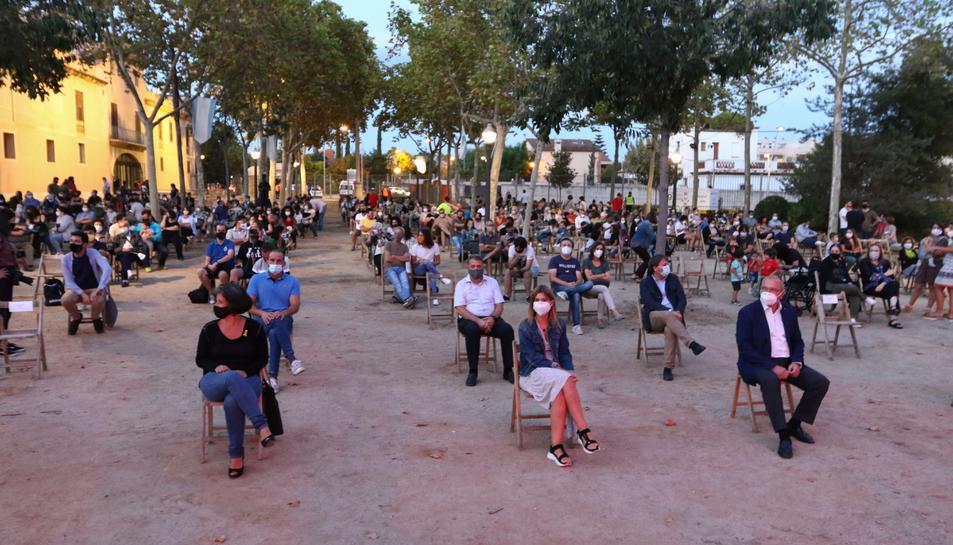 Actuación del Seguici Festivo de Reus en el Santuario de Misericòrida