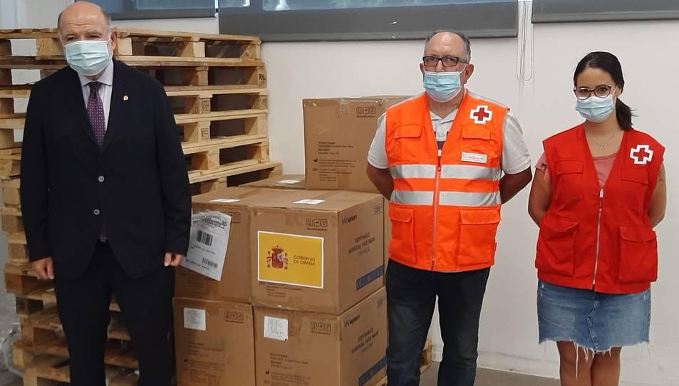 La Subdelegació ha distribuït 45.000 mascaretes a entitats socials de la província de Tarragona.