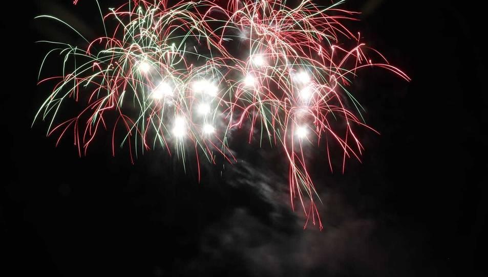 Els focs van emocionar als tarragonins.