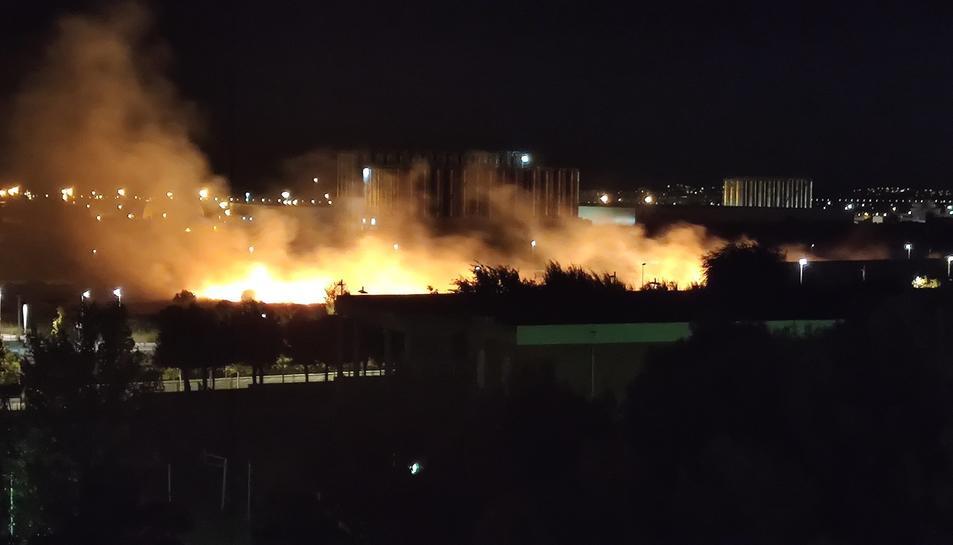 Les flames a Campclar