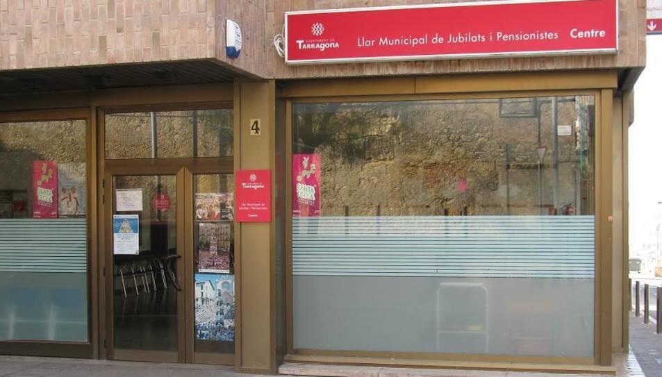 Imatge de la Llar Municipal de Jubilats i Pensionistes del centre de Tarragona.
