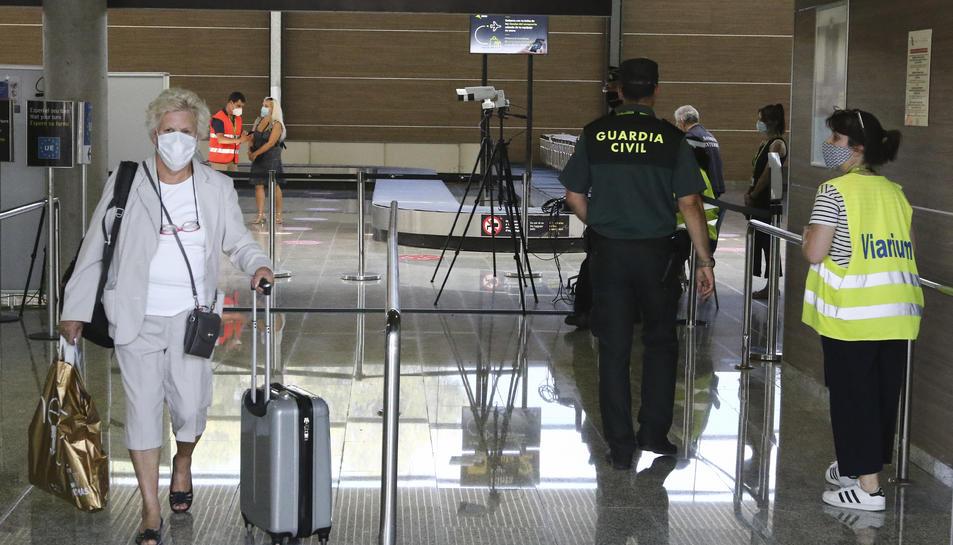 Els sistemes de seguretat implantats a l'Aeroport de Reus.