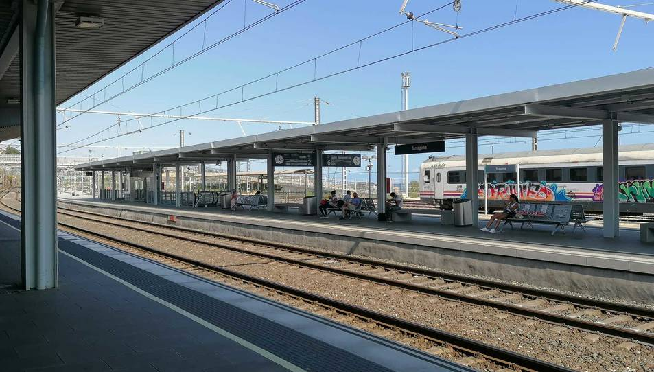 Imatge d'arxiu de l'estació de tren de Tarragona.