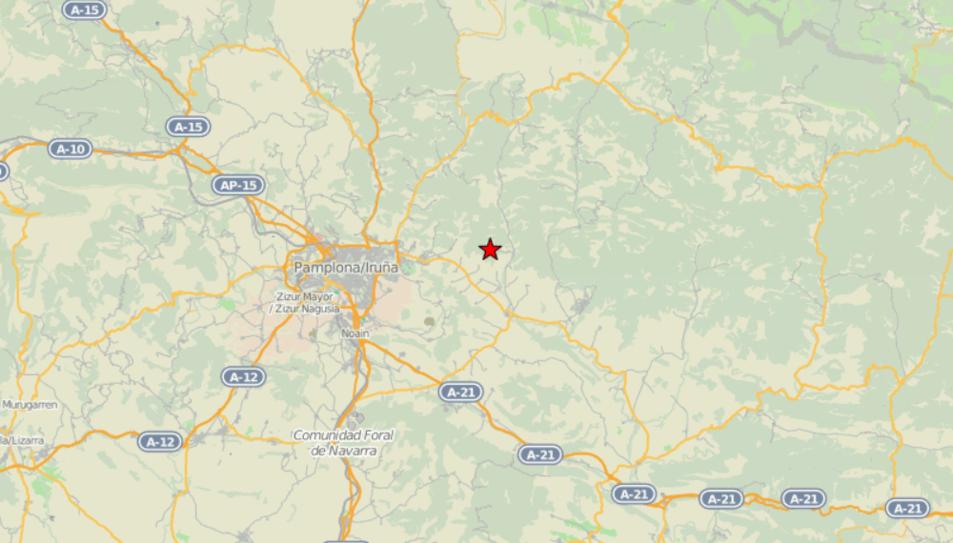 S'ha registrat al municipi de Lizoáin-Arriasgoiti.