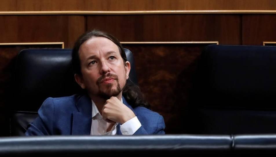 Fotografía de archivo (22/07/2020), del vicepresidente segundo y líder de Podemos, Pablo Iglesias
