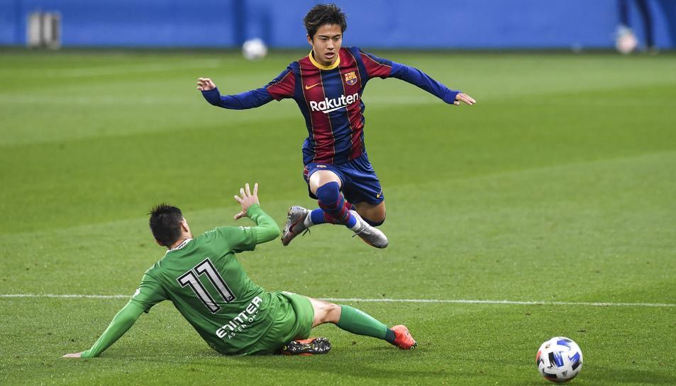 El Barça B ja espera al Nàstic de Toni Seligrat.