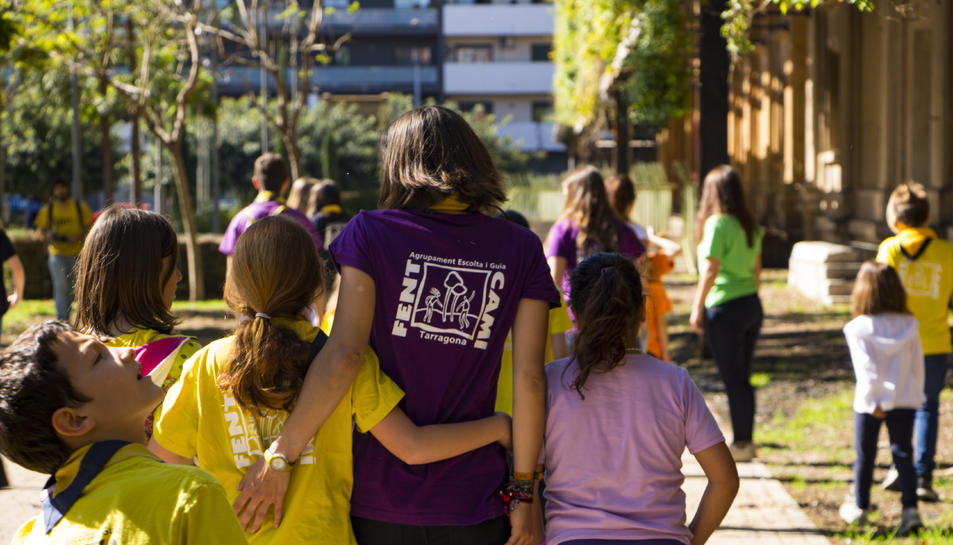 Imatge d'arxiu d'una de les activitats de l'Agrupament